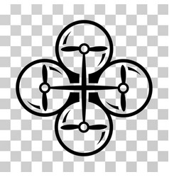 drone screws icon vector image vector image