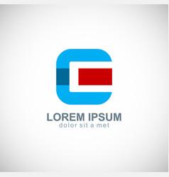 letter c company logo vector image
