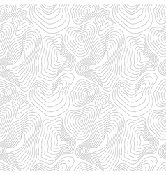 Heights map black contour seamless pattern vector image