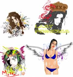 collage vector image