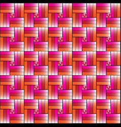 Colorfull weave background design vector