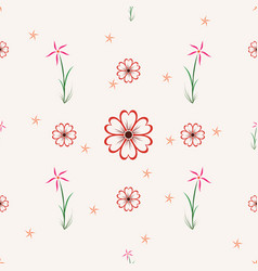 floral 0001 vector image