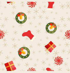 Holiday abstract seamless repetition pattern vector