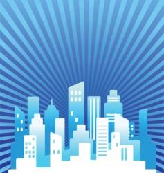 real estate flyer vector image vector image