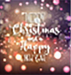 christmas and new year background 0610 vector image vector image