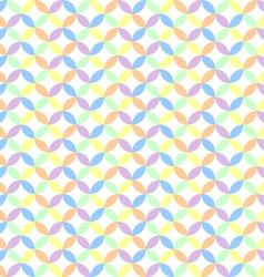 circle pastel background vector image