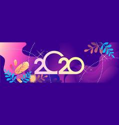 2020 calendar abstraction vector image
