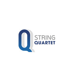 Badge for string quartet vector