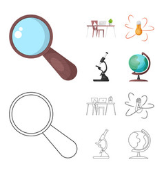 education and learning vector image