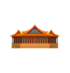 national theater of taiwan asian architecture vector image
