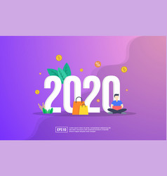 New year concept year opportunities for vector