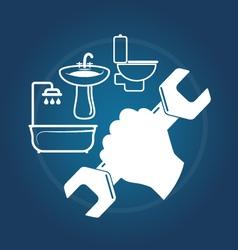 Plumbing services vector