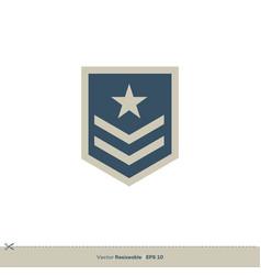 star badge emblem logo template design eps 10 vector image