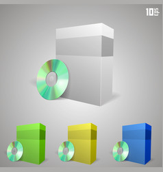 Cd drive with a box vector