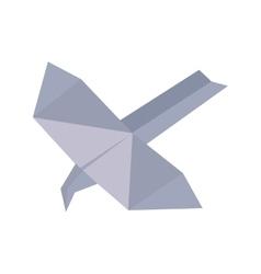 paper plane idea innovation up vector image