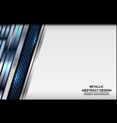background metallic vector image vector image