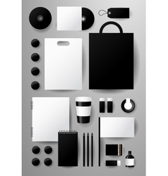 Abstract business set Corporate identity vector