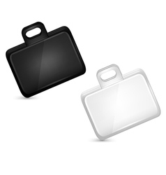 Business suitcases set vector image