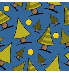 Christmas seamless theme vector image