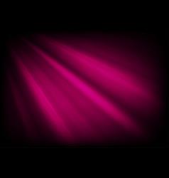dark purple glowing luminous rays abstract vector image