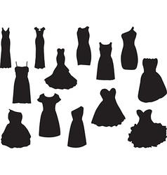Dresses vector