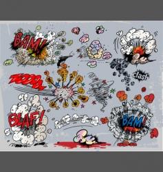 Explosions vector