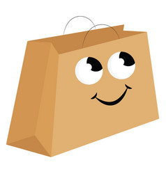 image bag or color vector image