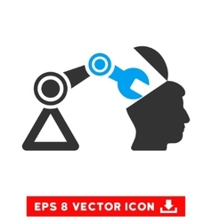 Open Head Surgery Manipulator Eps Icon vector
