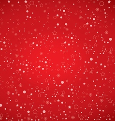 Merry Christmas and Happy New Year on snow vector image