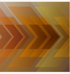 abstract gold geometric background vector image