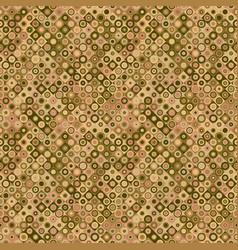 Abstract seamless circle mosaic pattern vector