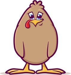 Baby Fowl Cartoon vector image