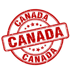 Canada stamp vector