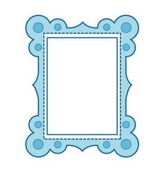 decorative frame icon vector image