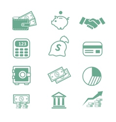 Finance Icons - vector image