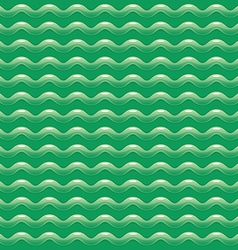 Green abstract pattern with shiny waves vector