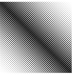halftone diagonal square pattern background vector image