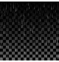 Rain drops on the transparent background vector