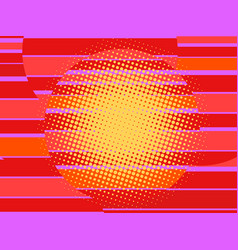 red 80s retro background vector image