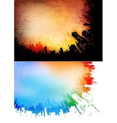 Urban backgrounds vector