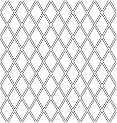 seamless diamonds latticed pattern vector image vector image