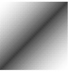 abstract geometric halftone square pattern vector image
