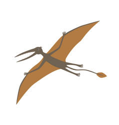 dinosaur rhamphorhynchus vector image