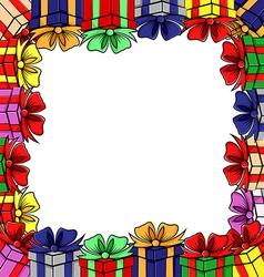 gift frames vector image