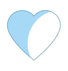 Heart health care love symbol icon vector