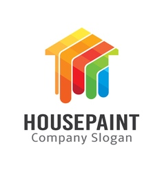 House Paint Design vector