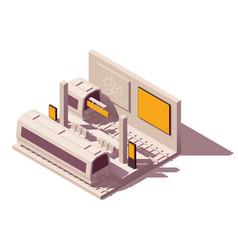 isometric metropolitan advertising vector image
