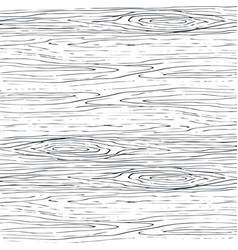Seamless wood grain gray pattern wooden texture vector