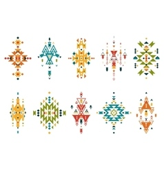Tribal elements vector image