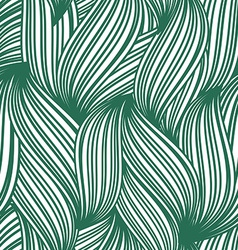 Green abstract seamless background of striped vector image vector image